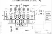 Схема мини-ТЭЦ 6МВт